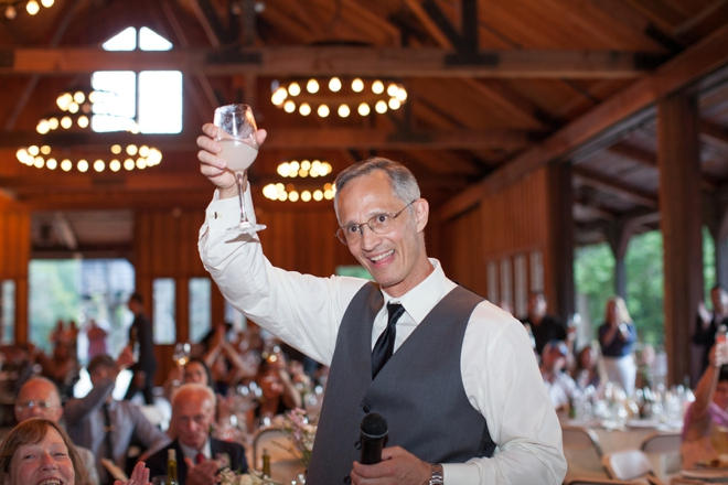 Fathers toast