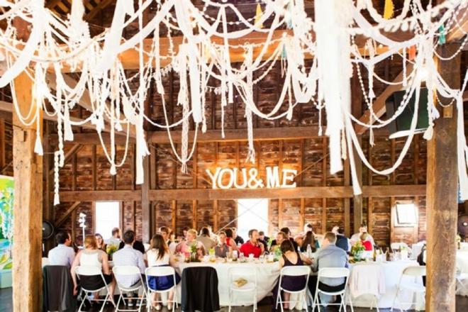 Amazing DIY wedding decor