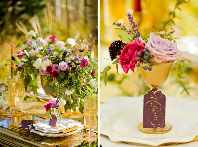 Stunning fall wedding ideas from Michelle Leo Events