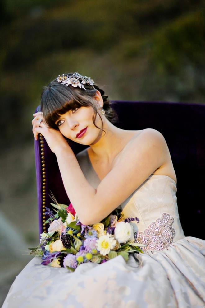 Stunning fall bride