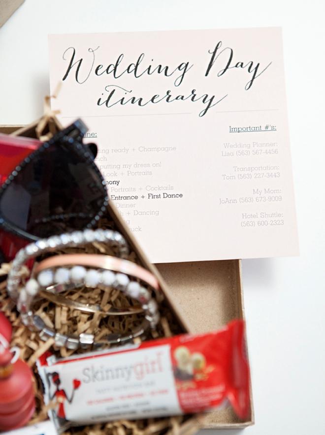 Free wedding timeline printable