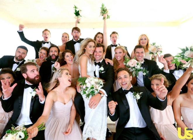 Lauren Conrads Wedding Party