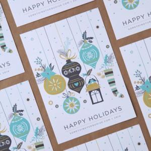 Something Turquoise 2014 Christmas Cards