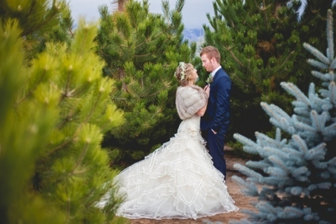 Christmas Tree Farm Styled Shoot by Blackbird Photography and Design