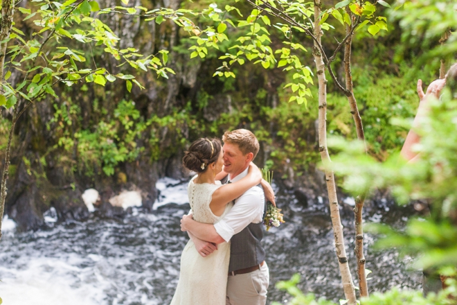 Beautiful DIY mountain wedding