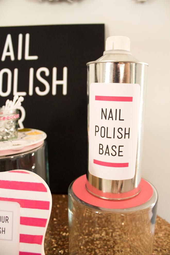 DIY Nail Polish Bar!