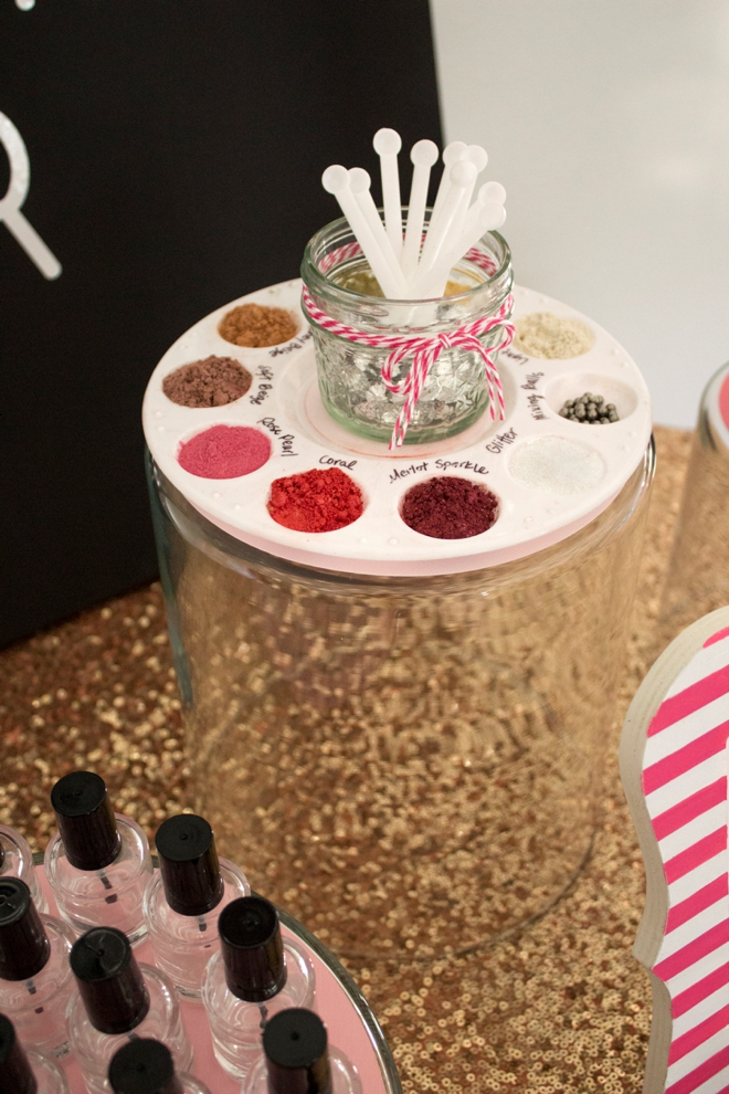 DIY Nail Polish Bar!