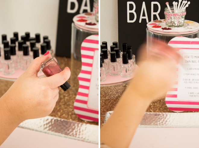 DIY Nail Polish Bar