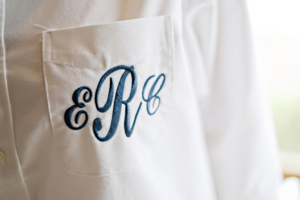 Brides personalized getting ready shirt