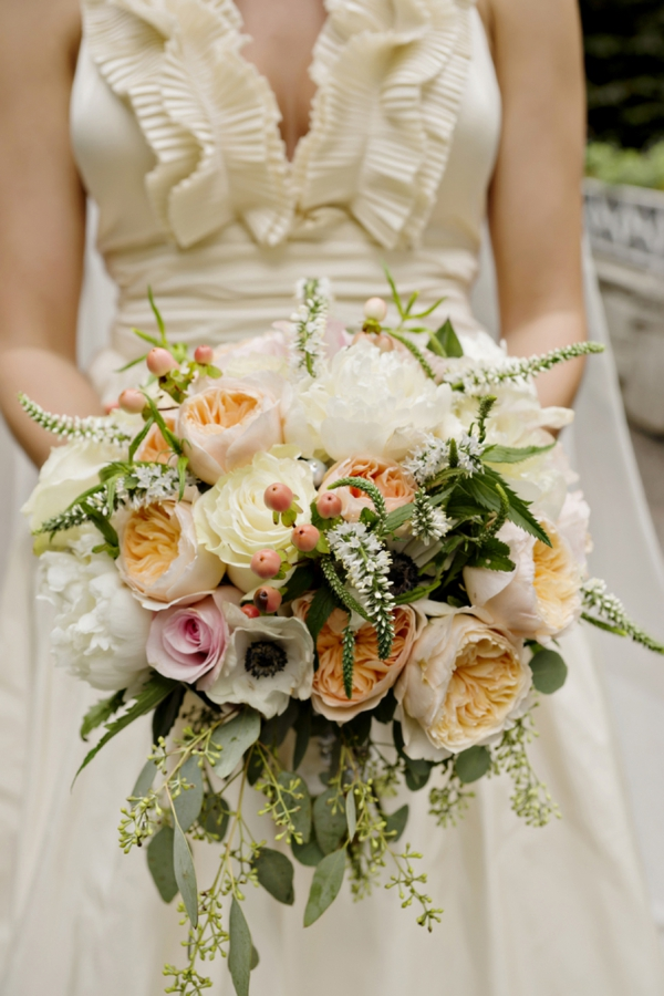 Stunning southern wedding bouquet
