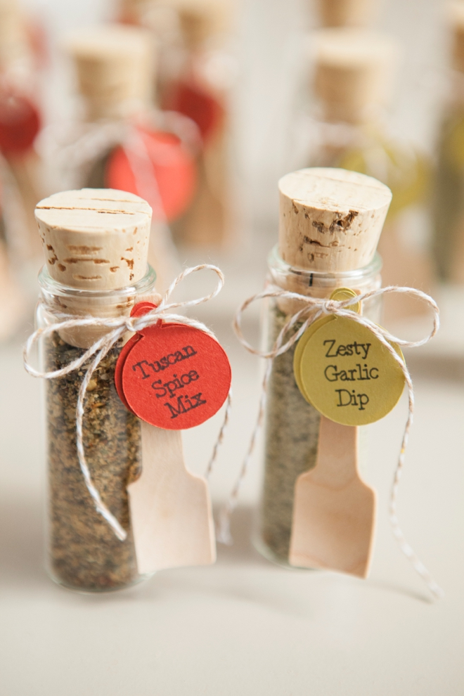 Diy Wedding Favors E Dip Mix