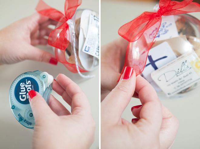 DIY - How to make a wedding keepsake ornament!