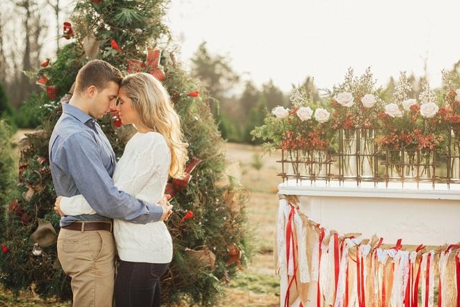 Darling Newlywed Holiday Styled Shoot