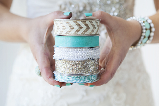 Something Turquoise, for the DIY bride!