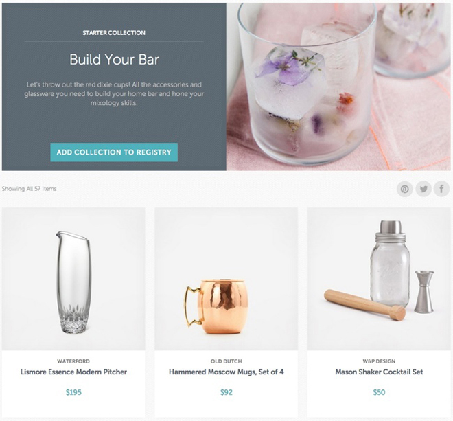 Zola - A wedding registry as beautiful as your big day!