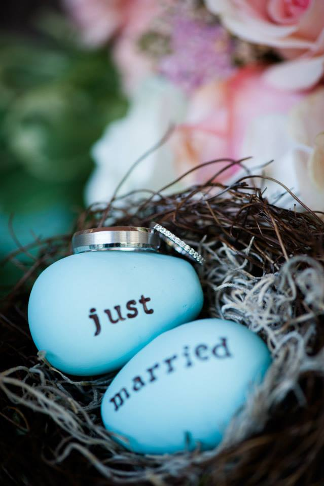 Just Married 'nesting eggs'