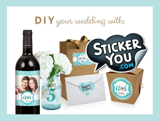 DIY And Personalize Your Wedding With StickerYou