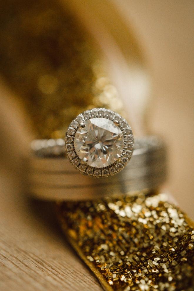Stunning wedding ring shot