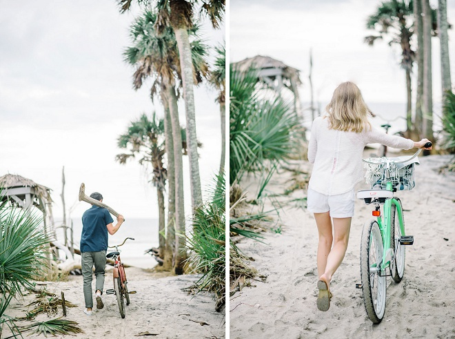 We're in love with this dreamy Charleston engagement!