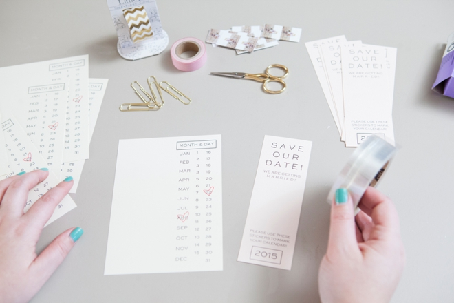DIY - Instagram Save the Date invitations with Free printables!