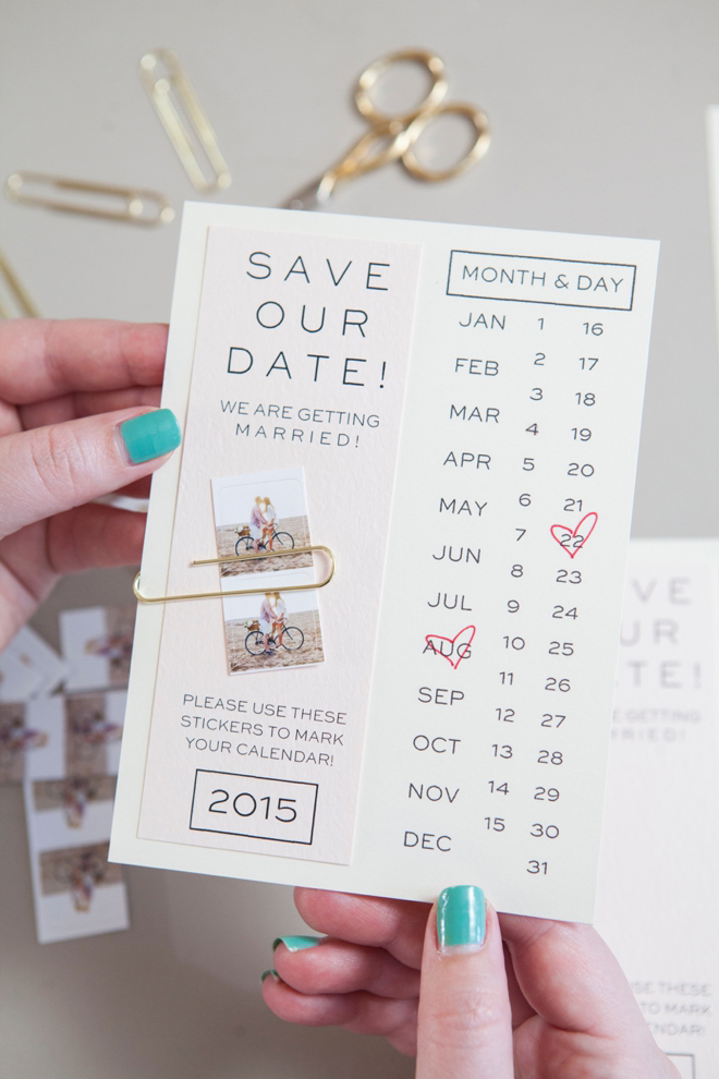 Make Your Own Instagram Save The Date Invitation - Design your own save the date template