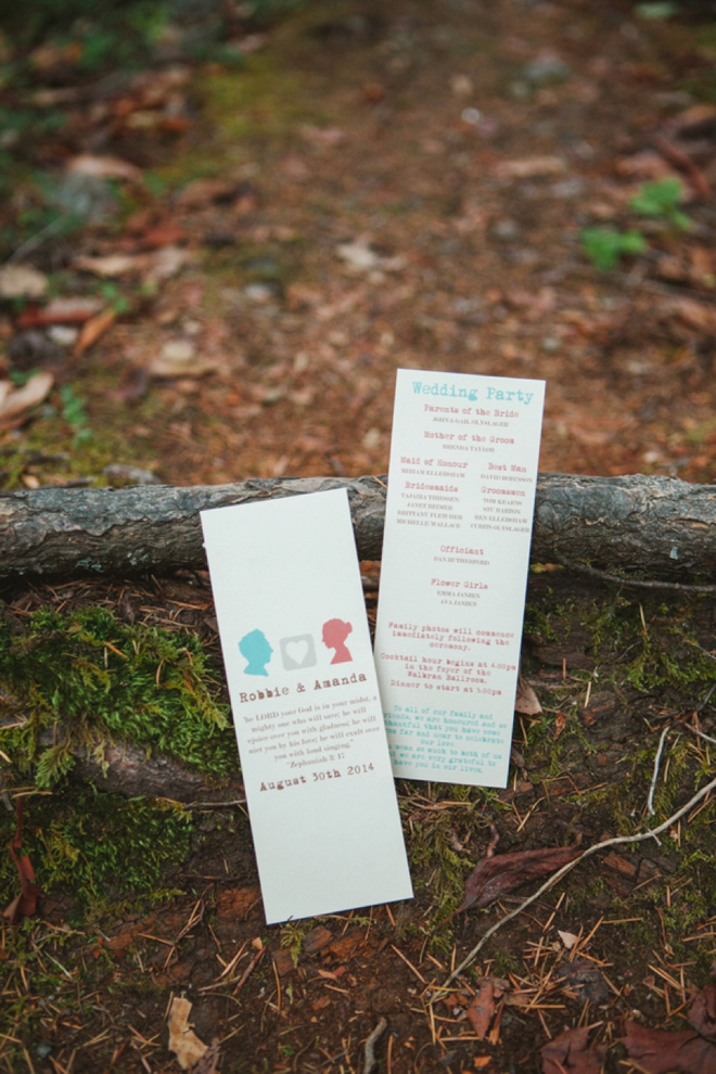 DIY ceremony programs