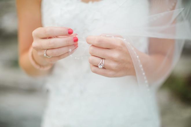 Beautiful wedding ring shot
