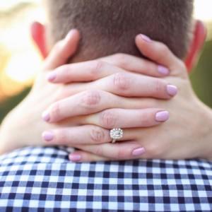 Darling wedding ring shot