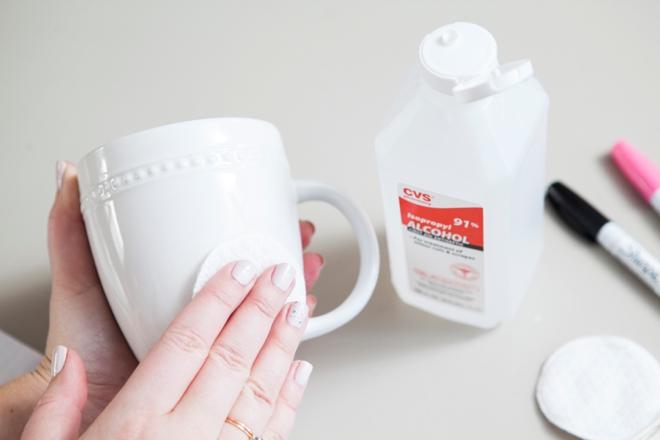 DIY Sharpie Mug Engagement Gift!