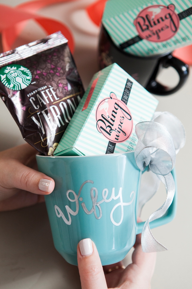 DIY Sharpie Paint Pen Mug - Wifey!