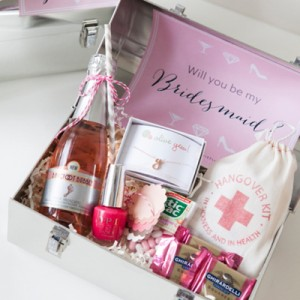Will you be my bridesmaid lunch box