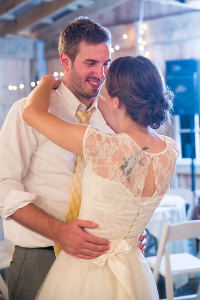 Lovely DIY barn wedding