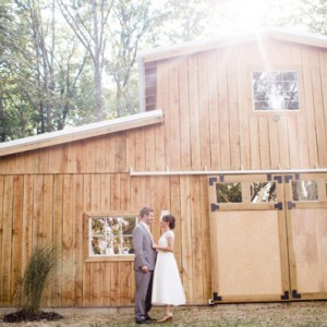 Lovely DIY barn wedding