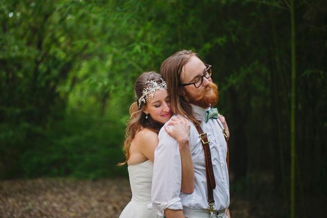 Beautiful, boho DIY wedding
