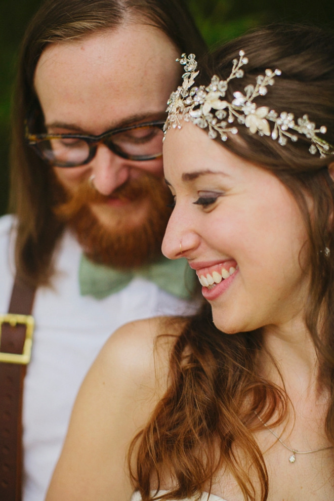 Beautiful, boho DIY wedding