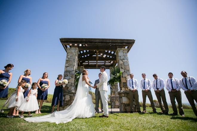 Beautiful wedding at Founders Park in Palos Verdes, CA
