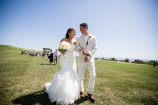 Beautiful nautical wedding in Palos Verdes, CA