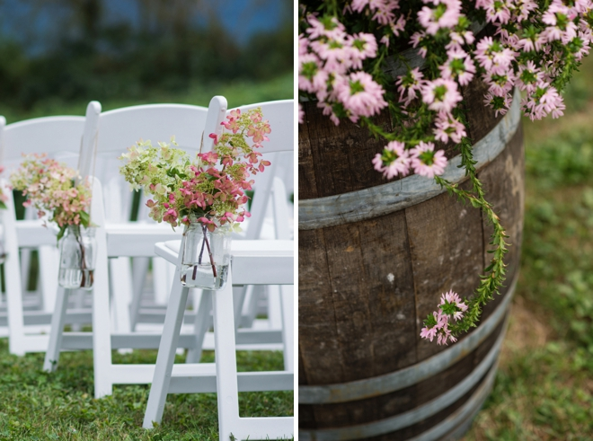 Beautiful, rustic DIY mountain wedding