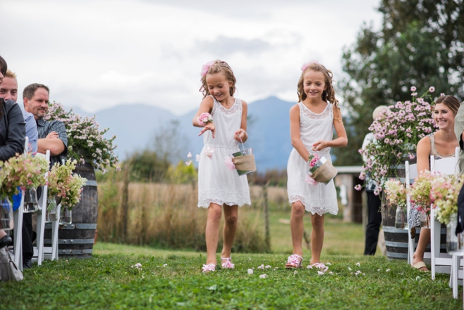 Darling flower girls