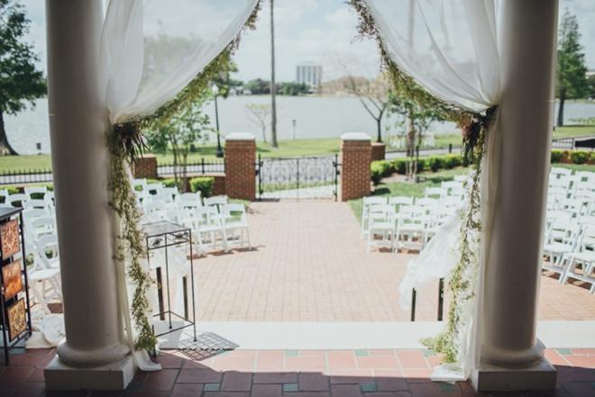 Sweet, turquoise DIY wedding