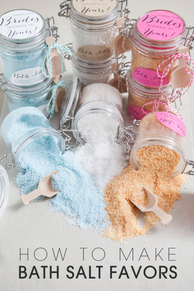 How to make Bath Salt Gifts!