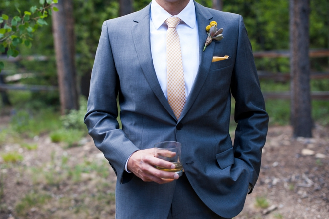 Groom and scotch