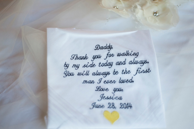 Dad handkerchief gift