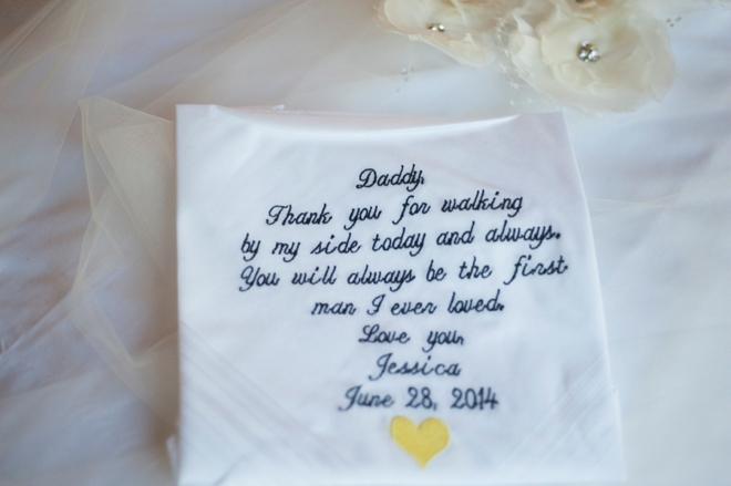 Dad handkerchief gift