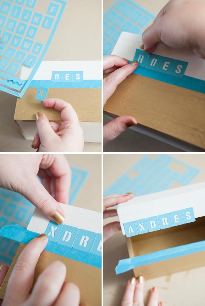 DIY address book - guest book