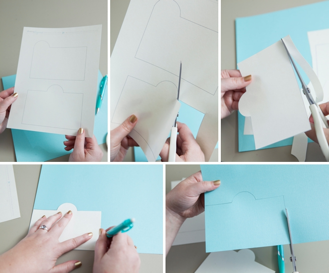 learn how to make this awesome address guest book
