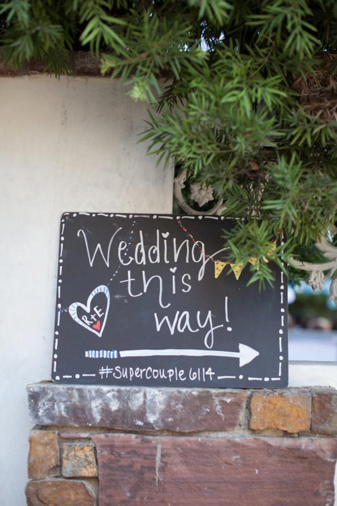 Wedding this way!