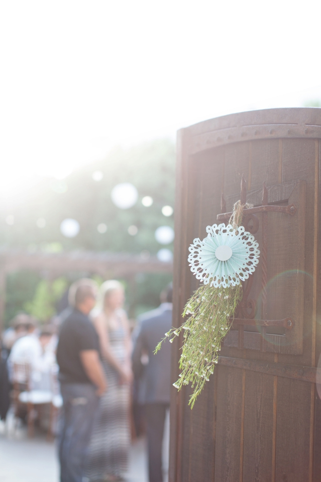 Gorgeous DIY wedding