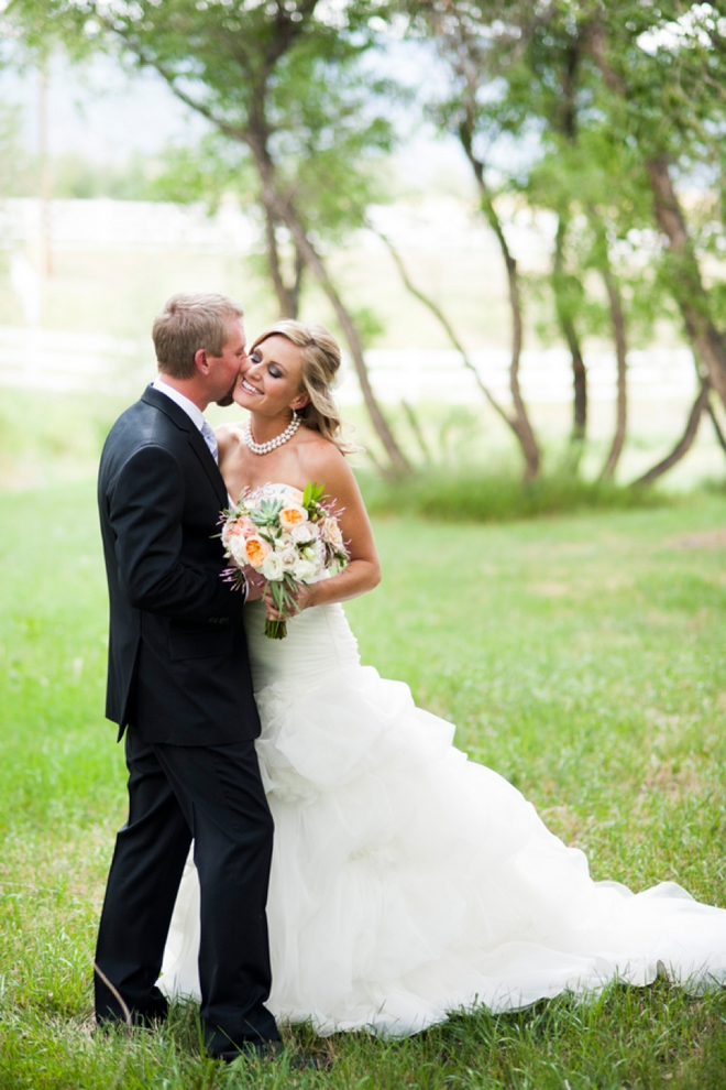 Gorgeous winery wedding