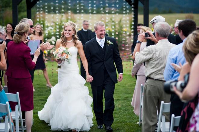 Gorgeous winery wedding